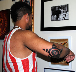 Tribal Star on Elbow by The Red Parlour