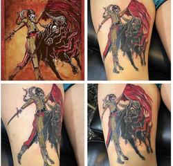 Matador Tattoo by Powder at The Red Parl