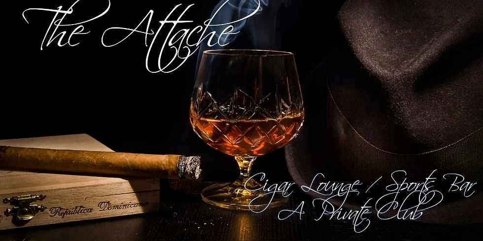 Attache' Cigar Lounge Sunday Day Party
