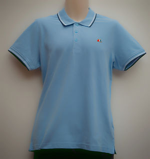 Aston averill adamo light blue polo