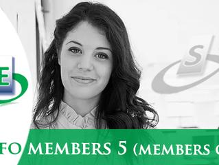 Infos members n. 5 (members only)