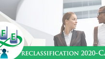 Reclassification exercise 2020 - CA 3a only