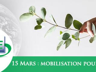 Vos idées et actions en faveur du climat (Mobilisation du 15 Mars 2019)