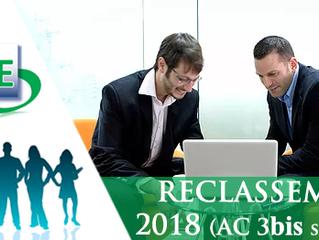 Exercice de Reclassement 2018 - AC 3bis seulement