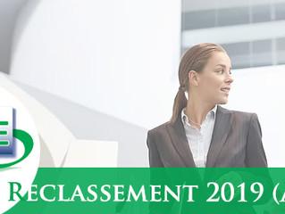 Exercice de Reclassement 2019 - AC 3bis seulement