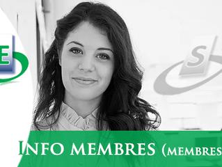 Infos membres n° 1 - 2019 (membres uniquement)