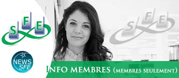 Infos membres n° 1 - 2021 (membres uniquement)
