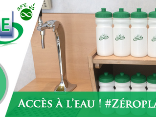 Accès à l'eau ! #Zéroplastique !
