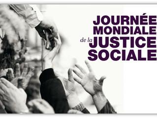 Ce 20 février, nous célébrerons la Journée mondiale de la justice sociale - On the 20th of February