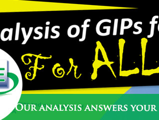 Panoptic special edition: Analysis of GIPs for all CAs