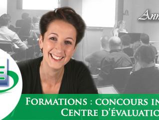 FORMATIONS : « Centre d'évaluation » / « Concours internes », livres de formation et pack en lig