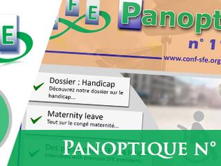 Panoptique n°116 : Dossier Handicap - Congé maternité - Présidents SFE et plus...