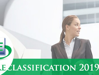Reclassification exercise 2019 - CA 3a only