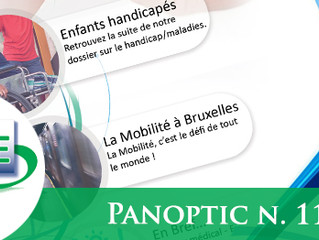 Panoptique n.117 : Children with disabilities - Mobility in Brussels - Tribune in brief...