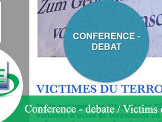 Conférence - débat organisé par l'AISBL Life4Brussels sur les victimes d'actes terroristes e