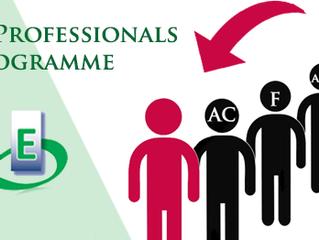 Programme Junior Professionals
