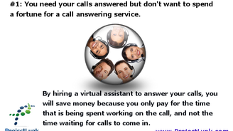 Reasons to hire a virtual assistant. #1