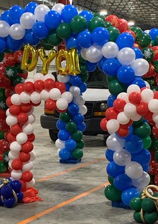 Balloon Arch Deliery Rhineback NY