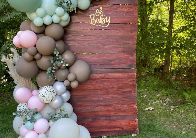 Organic Balloon Arch Mahopac New York