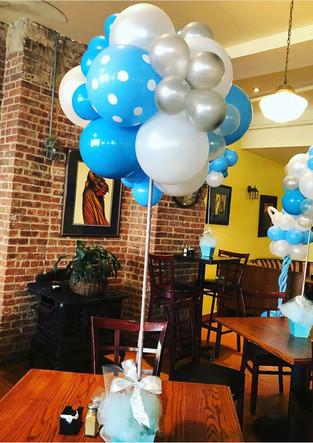 Organic Balloon Centerpieces Westchester County