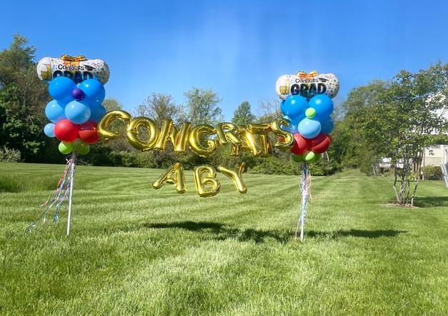 Graduation Balloon Decoration