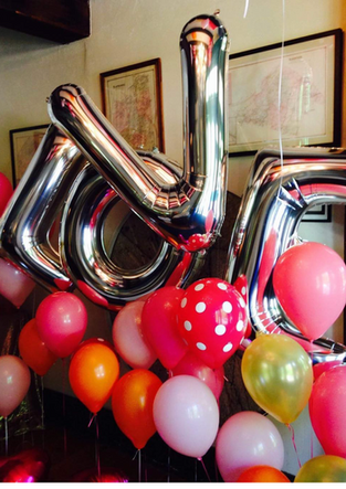 Helium Balloons for Wedding Hudson Valley NY
