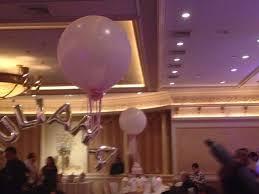 Helium Balloon Centerpiece