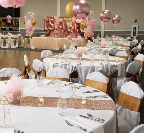 Balloon Decorations for Sweet 16