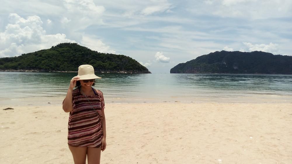 Me at Bantigue Sandbar