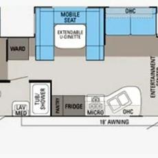 Eagle 4 - Floorplan