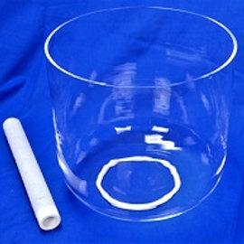 Taça de Cristal Cristalina / Crystal Singing Bowl Crystal Clear