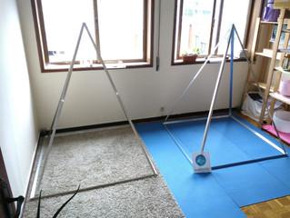 Mais uma Pirâmide desmontavel euphonia que vai energizar um espaço e apoiar terapias :) Agradecido