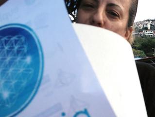 Um grande marco euphonia: o primeiro Ser de Cristal foi entregue na Madeira :) Muito feliz pela Expa