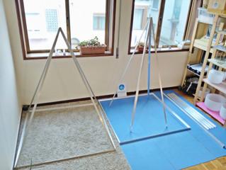 Mais uma novidade euphonia: Pirâmides Desmontáveis em Aluminio :D A imagem mostra quão praticas elas