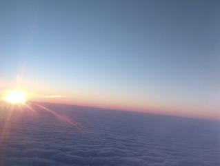 Agradecendo os últimos raios de Sol da Madeira