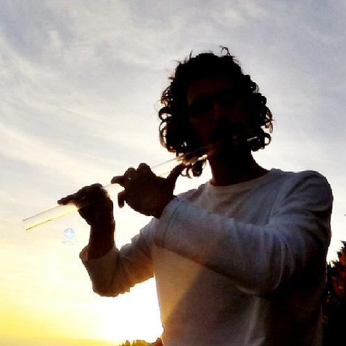 Flauta de Cristal Lá / Crystal Flute A