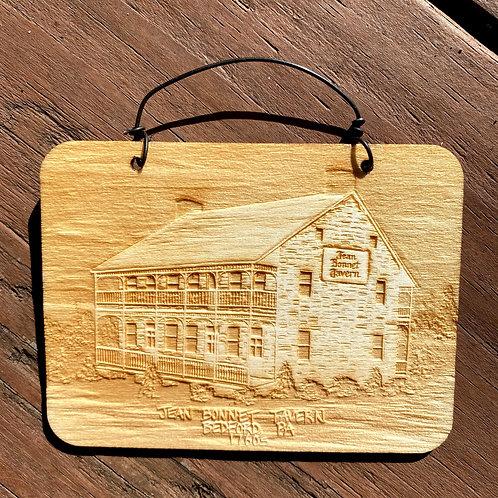 Ornament Wood Jean Bonnet
