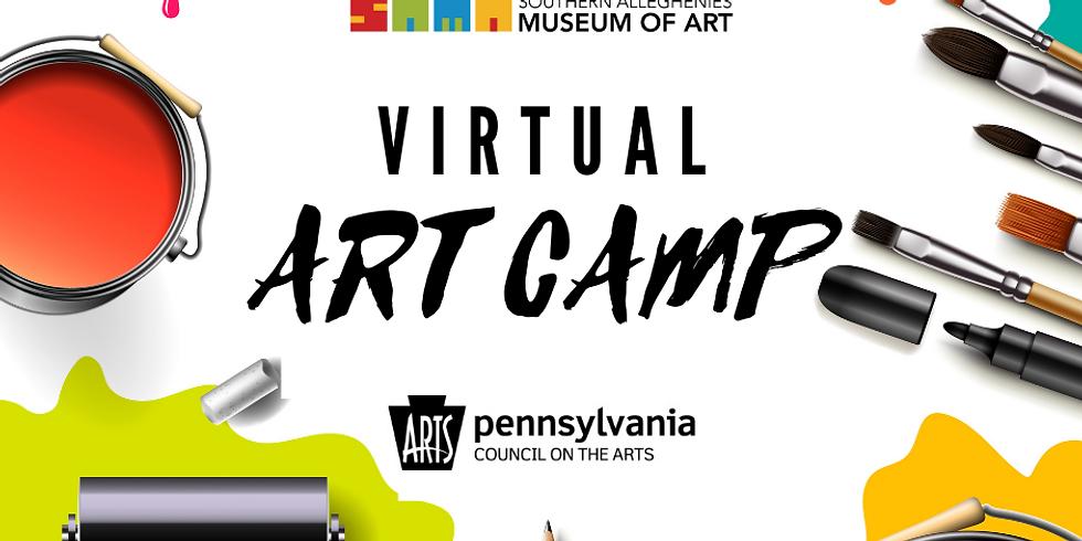 Virtual Art Camp: Ages 6-9