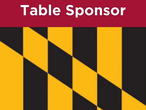 Gala Table Sponsor