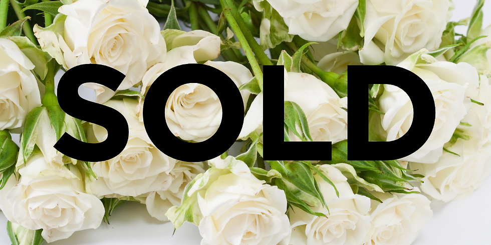 $200 Titelman White Roses Gallery