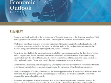 Guardian Capital Economic Outlook Fall 2019