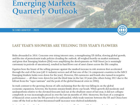 Last Year's Showers are Yielding This Year's Flowers:  Emerging Markets 2nd Quarter Update