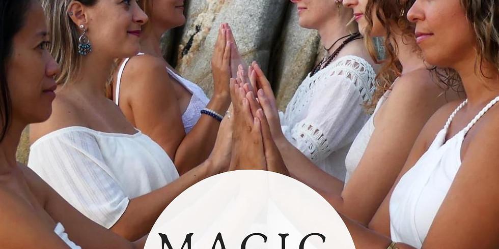yoni magic weekend: magic touch