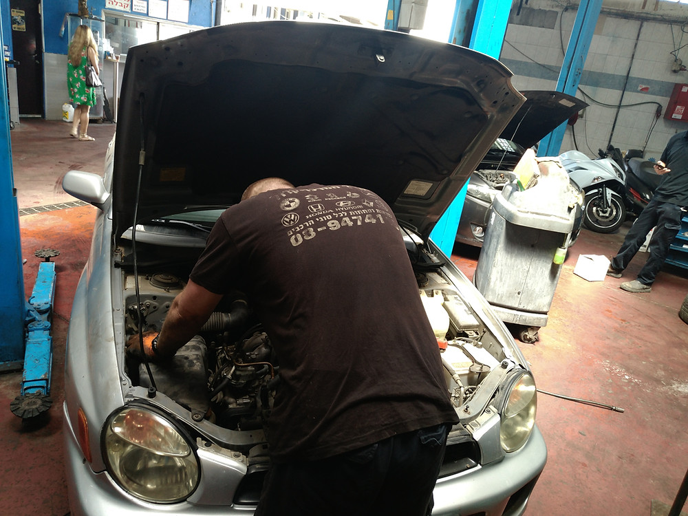בעיות נפוצות במנוע תיקון רכב במוסך