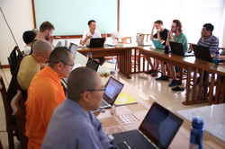 Class with prof. Teng Wei Jen