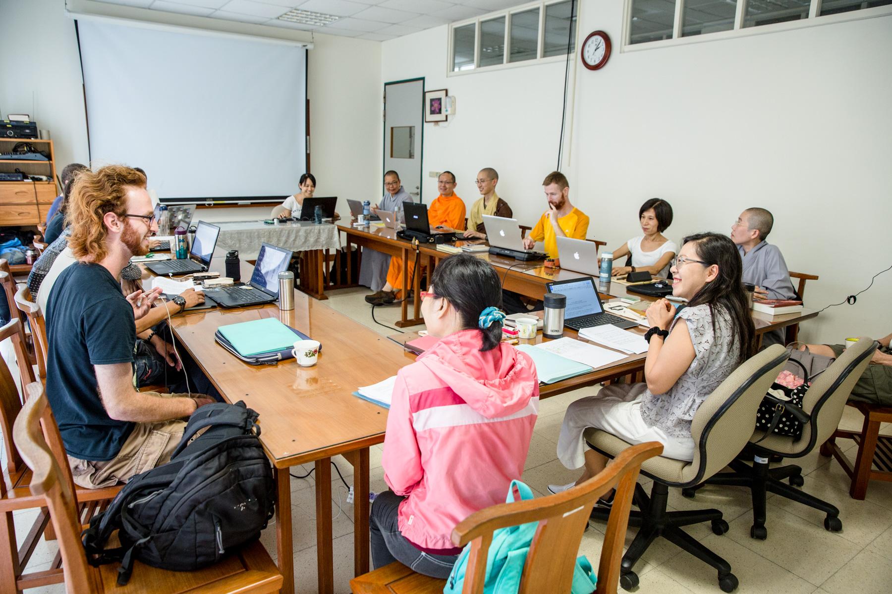 Class with prof. Wang Qingwei