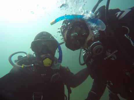 Underwater selfie!