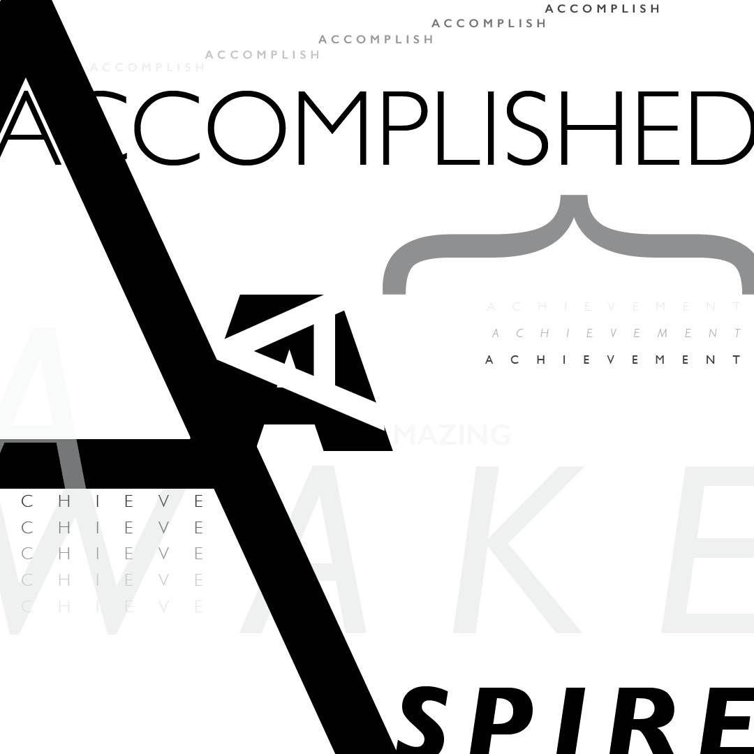 Typography Project: A.S.H.E.R.