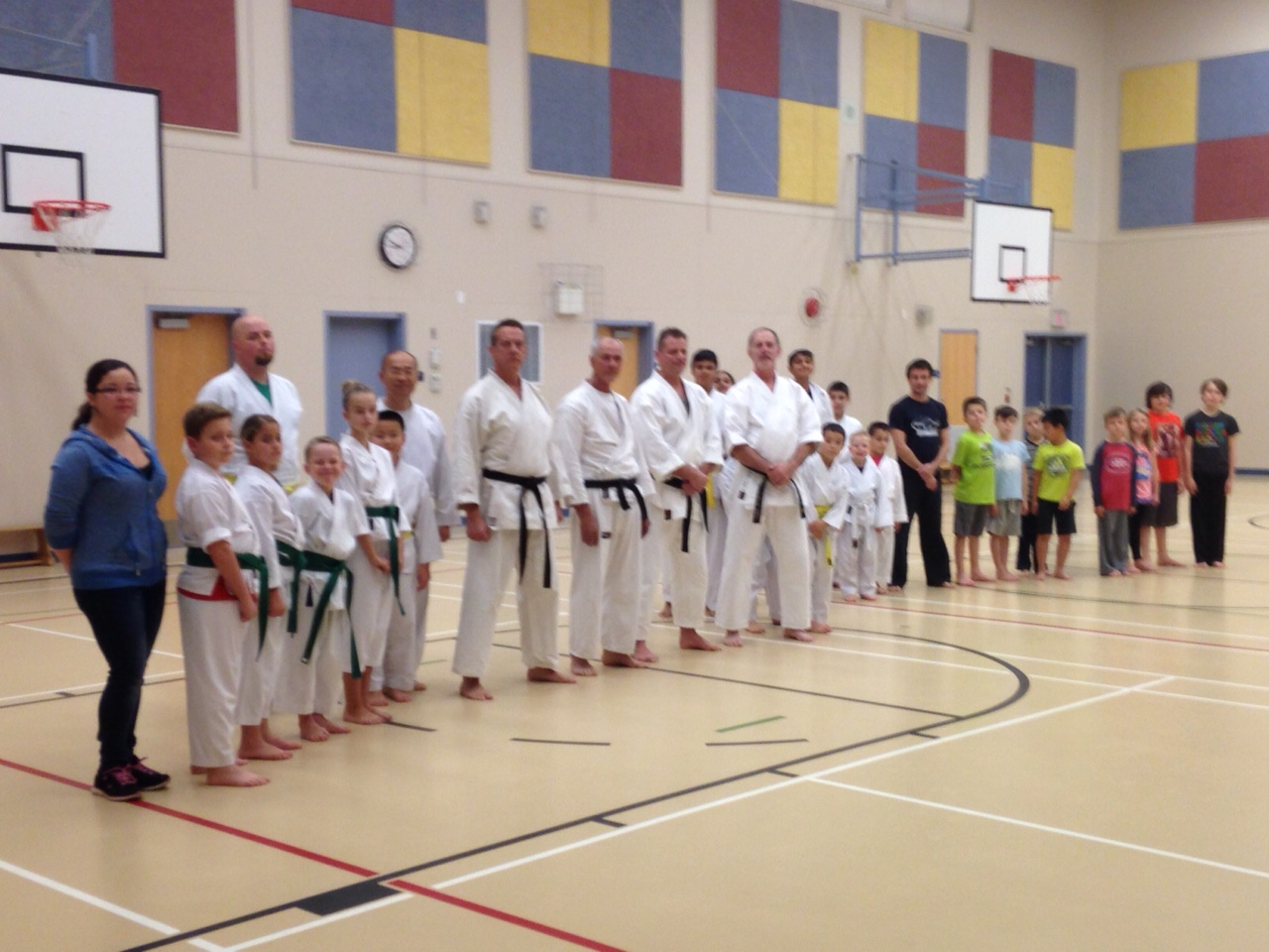 North Langley Dojo Oct. 26 2015