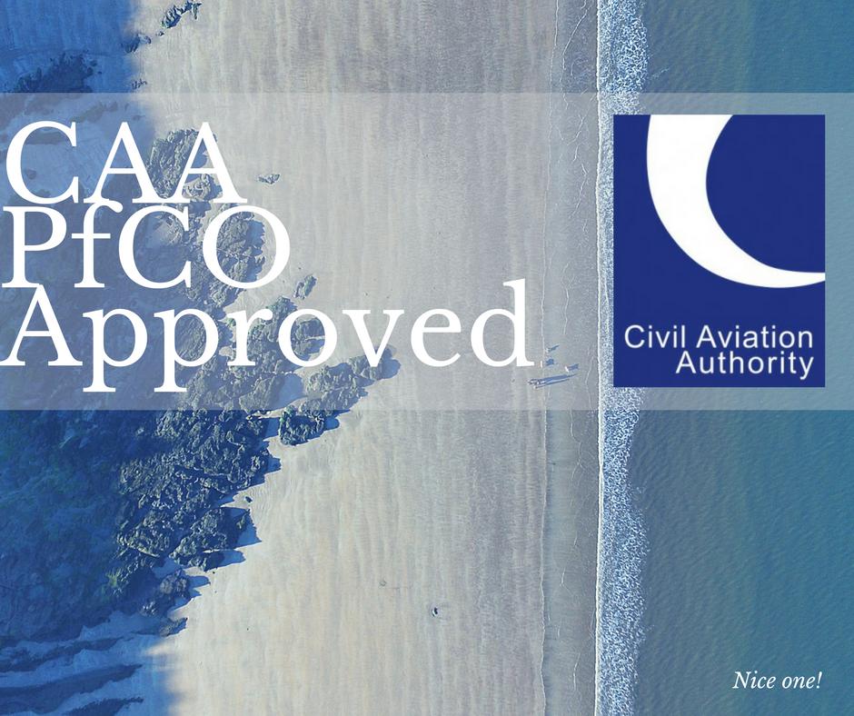 PfCO UAV approval